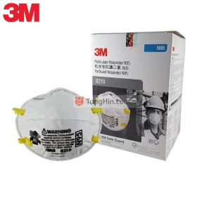 3M 8210 N95 Particulate Respirator Dust Mask (20 pieces)