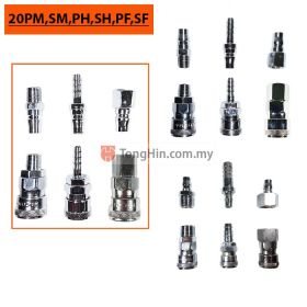PROTIMA 20PM,20SM,20PH,20SH,20PF,20SF Air Coupler Hi Cupla Plug Socket Connector 1/4 Inch