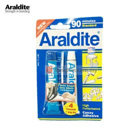ARALDITE Standard 90 Minutes Epoxy Adhesive Glue (Blue White) 15ml