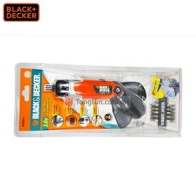 BLACK & DECKER KC9039 3-Position Cordless Screwdriver 3.6V With Charger