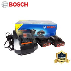 BOSCH Starter Kit AL1860CV & 18V 2.0Ah Battery 1600A001AZ