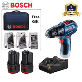 BOSCH GSB 12V-30 Brushless Cordless Impact Drill Driver with 12V 2.0Ah Battery & Charger 06019G91L1