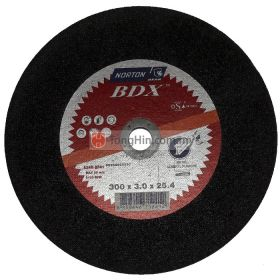 12'' Norton Cutting Disc (300 x 3.0 x 25.4 mm A24R BF41)