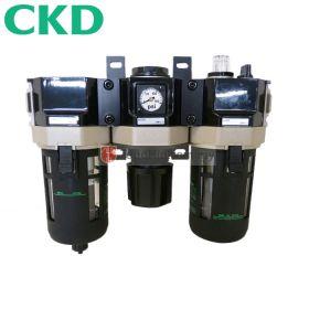 "CKD C4000-15 FRL Integrated Air Filter, Regulator and Lubricator 1/2"""