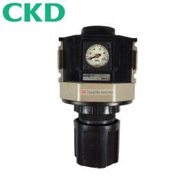 """CKD R4000-15 FRL Air Filter Regulator with Pressure Gauge 1/2"""""""