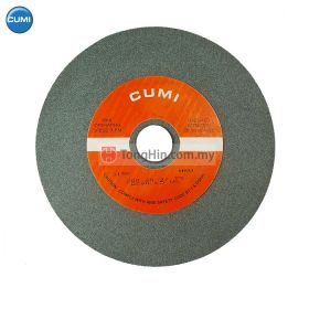 "CUMI Stone Grinding Wheel GC80 (8"") 200 x 20 x 31.75mm"