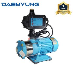 DAEMYUNG DCH2-40 Stainless Steel Domestic Water Pump with Auto Pressure Control 1""
