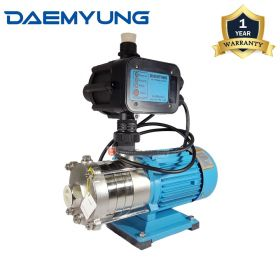 DAEMYUNG DSH4-40 Stainless Steel Domestic Water Pump with Auto Pressure Control 1""