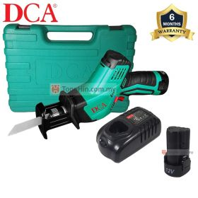 DCA ADJF15 Cordless Sabre Saw (Type E) with 2.0Ah Battery and Charger