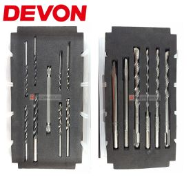 DEVON D-DBSA-15P 15 pieces Drill Bit & Screwdriver Bit Kit