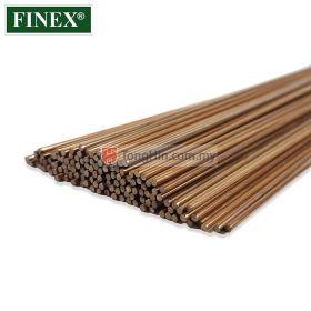 FINEX CU-PHOS Copper Brazing Rod 1.6mm/2.0mm/2.4mm x 500mm (kg)
