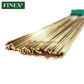 FINEX Silver Flo 20% Silver Alloy TIG Brazing Filler Rod 1.0mm/1.6mm/2.0mm/2.4mm/3.2mm x 0.5 meter