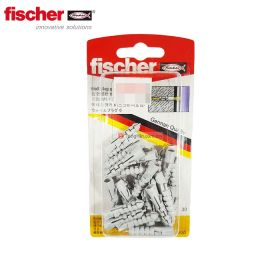FISCHER 93883 30 pieces Wall Plug 6 for Concrete, Bricks and Aircrete