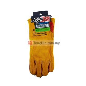 "FOURM FMG-50031 Welding Hand Glove 13"" Premium Cowhide Leather with Kevlar Thread"