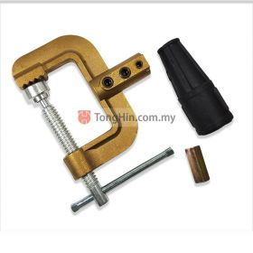 BRITS EG-600A Heavy Duty G-Clamp Brass Body