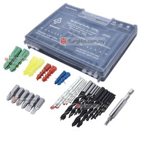 Germany 300 pcs Wall Plug, Driver and Drill Bit Set with Case