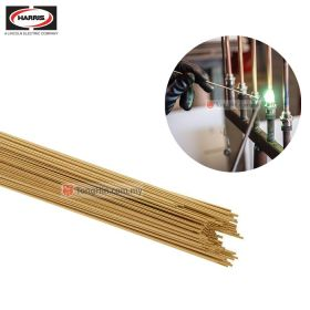 HARRIS 15 Bare Low Fuming Bronze Welding Brazing TIG Filler Rod 2.0mm/2.4mm/3.2mm x 1 meter (kg)