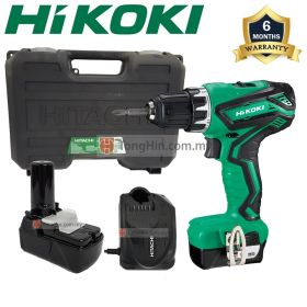 HIKOKI DS10DAL 10.8V Cordless Driver Drill with 1.5Ah Battery and Charger