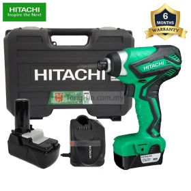 HIKOKI WH10DAL Cordless Impact Driver with 10.8V 1.5Ah Battery and Charger
