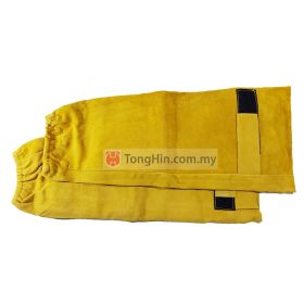 Industrial Grade Light Brown Yellow Welding Hand Sleeve 18 inch