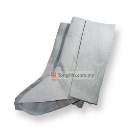 "Industrial Grade Leather Welding Leg Cover Spat 12-1/2"""