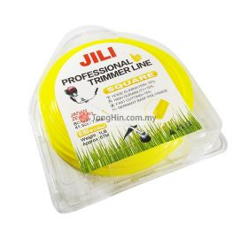 JILI Professional Trimmer Line Nylon Cutting Cord Square 2.4mm x 1lb (67 meter)