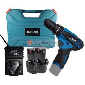 KAWAGI KA-12IDS Cordless Impact Driver Drill (3/8 inch) 12V with Battery & Charger