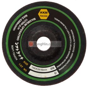 "KKM 4"" Flexible Grinding Disc 100 x 3.0 x 16mm Metal"
