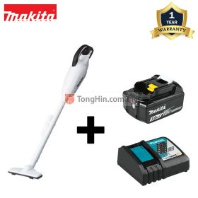 MAKITA DCL180FRFW 18V Cordless Vacuum Cleaner with 3.0Ah Battery & Charger