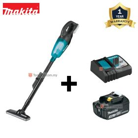 MAKITA DCL180RFB 18V LXT Cordless Vacuum Cleaner with 3.0Ah Battery and Charger