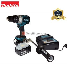 MAKITA DDF481RME 18V Cordless Driver Drill with Battery Charger and 4.0Ah Battery
