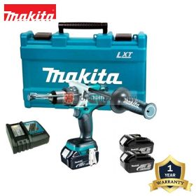 MAKITA DDF481RFE 18V Cordless Driver Drill with Battery Charger and 3.0Ah Battery