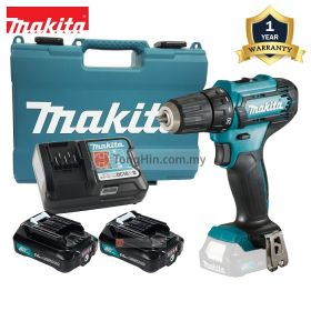 """MAKITA DF333DWAE 12V Max Cordless Driver Drill 10mm (3/8"""") with 2.0Ah Battery and Charger"""