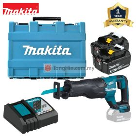 MAKITA DJR187RFE 18V Cordless Recipro Saw 1-1/4 inch with 3.0Ah Battery & Charger