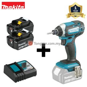 MAKITA DTD152RFE 18V Cordless Impact Driver 1/4 inch with 3.0Ah Battery & Charger