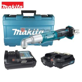 "MAKITA TL064DWAE Cordless Angle Impact Driver 1/4"" with 12V 2.0Ah Battery & Charger"