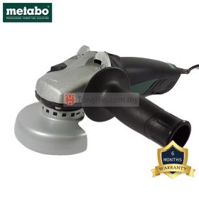 METABO W8-100 4 Inch Heavy Duty Angle Grinder 850W