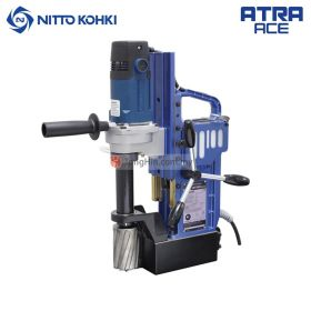NITTO KOHKI AO-5575A Atra Ace Portable Magnetic Drilling Machine 950W