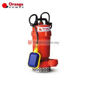 ORANGE PUMPS SP200 Single Phase Open Cast Impeller Submersible Water Pump