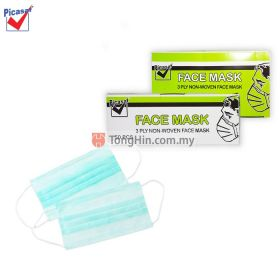 PICASAF 3 PLY Disposable Face Mask Non Woven (50pcs/box)