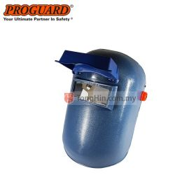 PROGUARD Welding Head Shield (Blue) with Lens