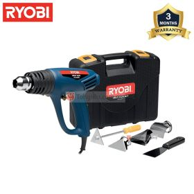 RYOBI HG-2000K Hot Air Heat Gun Kit 2000W (600 degrees)