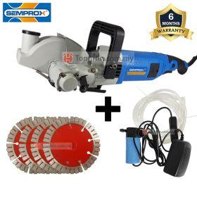 SEMPROX SWC1201 Industrial Wall Groove Cutter 2800W