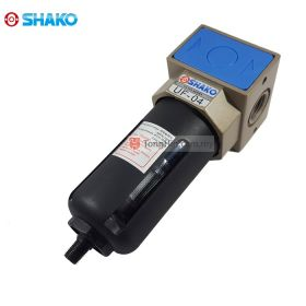 """SHAKO UF-04D FRL Air Filter 1/2"""" with Auto Drain"""
