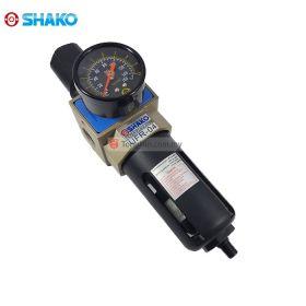 """SHAKO UFR-04D FRL Air Filter Regulator 1/2"""" with Auto Drain"""