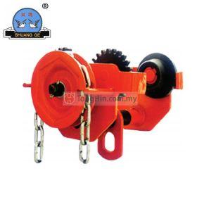 SHUANG GE GCL-AK Geared Trolley 1 Ton x 3 Meter