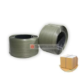 PP Package Strapping Band Belt / Strap Band Roll for Strapping Machine / Sealing Machine (15mm x 7kg)