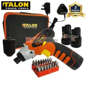 TALON TD7917 12V Cordless Impact Driver with 1.5Ah Battery and Charger