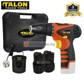 TALON TD9189 12V Cordless Driver Drill with 1.5Ah Battery and Charger