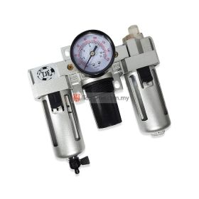 TJE C-300 FRL Integrated Air Filter, Regulator and Lubricator 3/8""